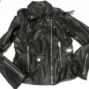 Blanc NYC Vegan leather jacket